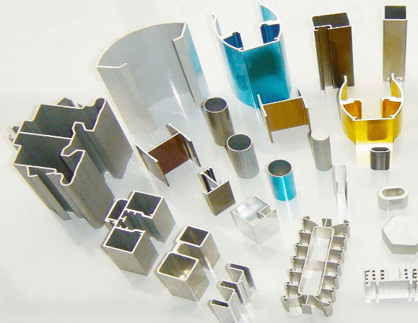 Aluminium extrusions and industrial hardware