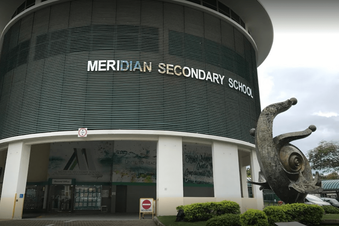 Coral Sec School at Pasir Ris